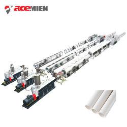 Línea de producción de extrusión de PVC plástico