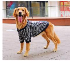 Большой золотой Retriever собака одежду Huskies Лабрадор среднего большой породы Husky Samoyeds летом и осенью Winterfashionable полосой на одинарном листе верхней одежды Resista