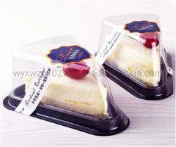 Одноразовые пластиковые Пустой треугольник бутерброд/выпечка торт в салоне