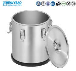 Из нержавеющей стали Heavybao двойные стенки цилиндра экструдера фильтр для сохранения тепла напиток для хранения воды ковша