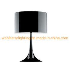 Candeeiro de mesa de metal com alumínio Sombra (WHT-2870)