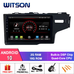 Witson Android 9 de 10 pulgadas de pantalla coche reproductor de DVD de vídeo para Honda Fit (DD) 2014