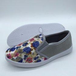 Nouvelle arrivée d'enfants chaussures chaussures en toile d'injection occasionnels Chaussures (ZL0425-11)