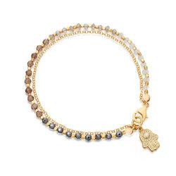 Nouveaux design Fashion Bijoux cordon bracelet en or