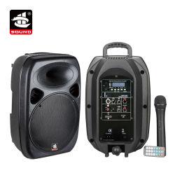 8 pulgadas de Karaoke inalámbrico Bluetooth Carrito Altavoz Activo (PS-0708BT-WB)