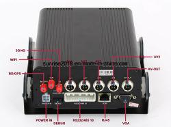 4 canaux HD 720p voiture DVR avec suivi GPS Mobile WiFi 3G 4G