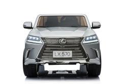 La licence Lexus-570 Kids ride sur la voiture dans l'argent