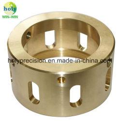 Precisie CNC die de Delen van het Messing voor ElektroCNC Gebruikte Componenten machinaal bewerken