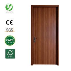 Eco-Friendly à prova de transferência de calor no interior do WPC Porta de impressão para banheiro