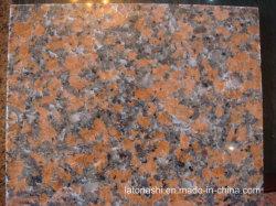 Chine G562 carreaux de granit rouge de l'érable pour revêtements de sol et mur