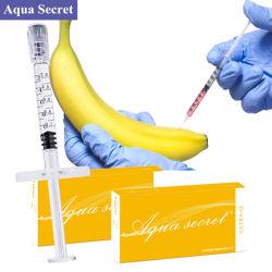 架橋結合された水の秘密の注射可能なHyaluronic酸の注入口のゲルの陰茎の拡大