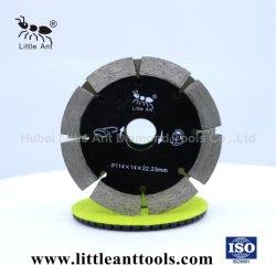 """4,5""""/114mm de haute qualité diamant fritté de lame de scie à disque de coupe d'outils diamantés pour mur noir"""