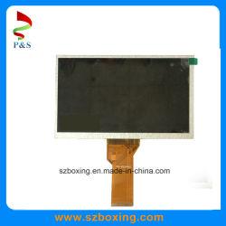 7'-дюймовый ЖК-экран с интерфейсом LVDS/резолюции 800*480 для монитора машины POS