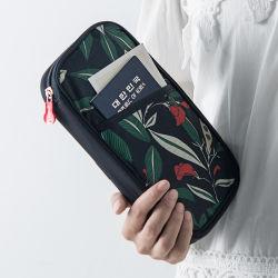 La versione coreana del pacchetto del passaporto per la corsa multifunzionale del sacchetto dei documenti di viaggio d'oltremare fornisce 205g