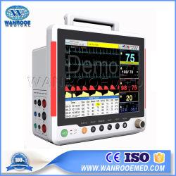 F8 Medical salle ECG USI Multi-Parameter Portable 12,1 pouces Signes vitaux patient cardiaqueMoniteur de pression sanguine numérique