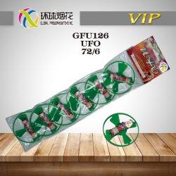 Fuochi d'artificio a terra del Hunan del filatore e dell'elicottero del giocattolo esterno dei bambini di Gfu126-UFO