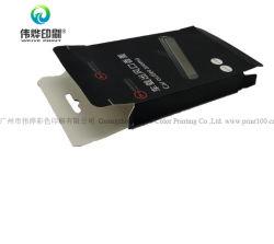 Fabricación personalizada Imprimir accesorios de telefonía móvil el caso del cuadro de promoción del embalaje de papel