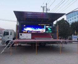 중부하 작업용 모바일 캡 LED 스크린 디스플레이 댄스 스테이지 트럭