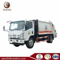 Isuzu 700p 6 8 10 Behälter-Komprimierung-Abfall-Ansammlungs-Hygiene der Tonnen-Kapazitäts-8m3 10m3 12m3 komprimierte Abfall-Abfall-Verdichtungsgerät-LKW