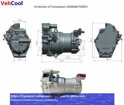 سيارة كهربائية طراز Mg34at-320DV بجهد 28 سم مكعب/34 سم مكعب EV مزودة بنظام تكييف الهواء مع إمكانية التمرير في السيارة الضاغط