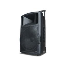 PROaudio 18 Zoll angeschaltener DJ-Karaoke-Resonanzkörper lauter Bluetooth Laufkatze-Lautsprecher