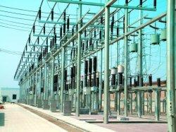 Subestação da Linha de Transmissão galvanizado Estrutura de aço