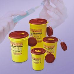 طرف حادّ تصرّف بلاستيكيّة مستشفى إبرة تصرّف وعاء صندوق