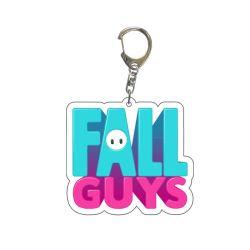 Gioco acrilico Keychain dell'anello chiave dei regali della catena chiave dei tipi di caduta