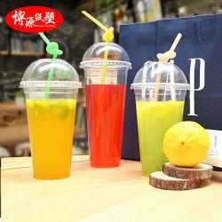 Beschikbare Plastic Kop/Mok met Deksel voor Sap/Thee/het Drinken