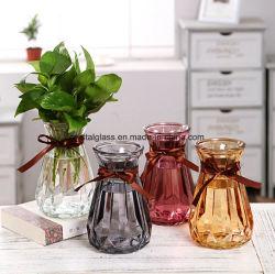 Boa decoração artesanal de vidro vaso de vidro