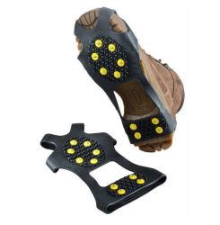 Tampa do calçado de borracha de alta qualidade Magic Spike Pega Gelo Neve de pranchas de Gelo Gelo Segurança equipamento para cobrir as travas de gelo para calçados pinças caminhadas calçados de neve