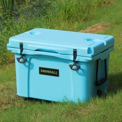 다기능 플라스틱은 옥외 큰 크기 얼음 냉각기 상자를 낚시질하는 더 차가운 상자 픽크닉 여행을 격리했다