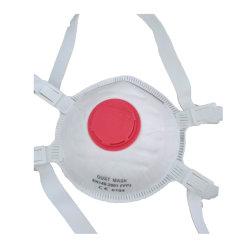 Maschera facciale in carbonio attivo monouso non tessuto con respiratore senza valvola