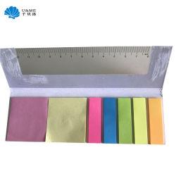 Klebrige Anmerkungs-Auflage-Mininotizbuch-Protokoll-Auflage mit Richtlinien