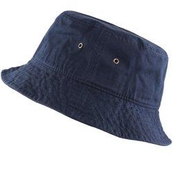 Le coton Packable chapeaux de godet de voyage de pêche de l'homme de l'été chapeau avec oeillets de ventilation