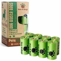 HDPE настраиваемые ручки Cat Doggie Пэт Poop Bag поддающихся биохимическому разложению отходов собак сумок-водоочиститель