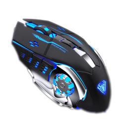 Ultime specifiche ottiche ricaricabili del mouse del calcolatore di gioco del USB per il computer portatile