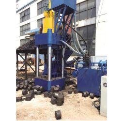Macchina di rame di alluminio della mattonella del metallo dello scarto verticale della pressa idraulica