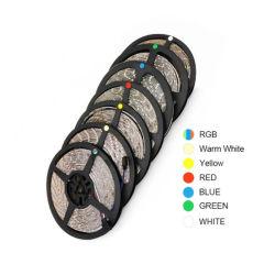 La striscia rossa bianca calda bianca 12V dell'azzurro LED dell'indicatore luminoso di striscia di RGB 300 LED 5m 60LEDs/M SMD 2835 impermeabilizza la lampada flessibile della striscia della corda del nastro
