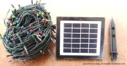 Solar-LED-Saitenleuchten für Weihnachtsdekoration Sm11b2-S300L