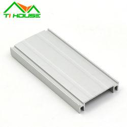 Kundenspezifisches Aluminiumstrichleiter-Profil-heller Kasten-hölzernes Korn-Aluminium-Profil