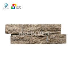 Дешевые природных Slate каменными плитками стене природных Split поверхности панели люка камнеуловителя