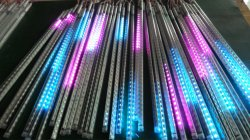Éclairage de vacances 10pcs/Set SMD5050 50cm de pluie de météores de lumière à LED