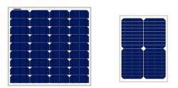 Tamaño pequeño Panel Solar monocristalino de 20 W de energía solar celdas para el hogar sistema de Energía Solar