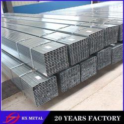 Q235 Acier laminé à froid à paroi mince tuyau en acier recouvert de zinc/section ronde Galvanzied de tuyaux en acier soudé/carbone tuyaux sans soudure