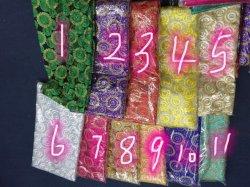 قطعة قماش Lace للبيع الساخن 100% بوليستر العديد من الألوان