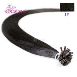 Nova chegada queratina Extensão de cabelo Virgem indiana de cabelo humano