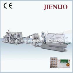 Ligne haute vitesse Jienuo Productin cartoning machine automatique de l'emballage sous blister