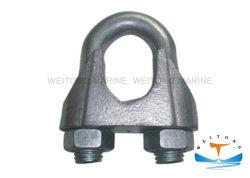 Type de matériel maritime européenne fixations Wire Rope Clip recto verso