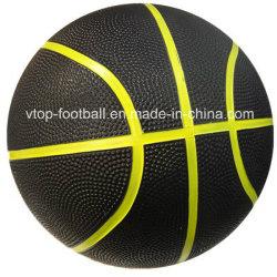Cor duplo de tamanho oficial do basquetebol de Borracha